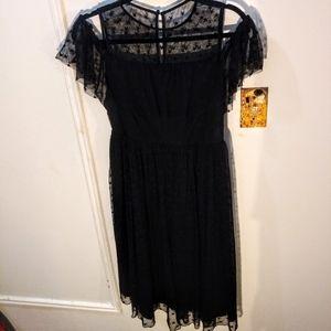 Plus size Torrid Cold Shoulder dress